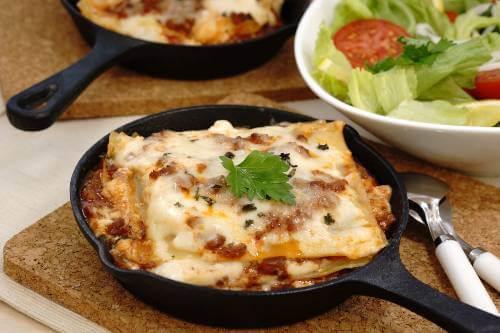Vegetarian Skillet Lasagna Recipe