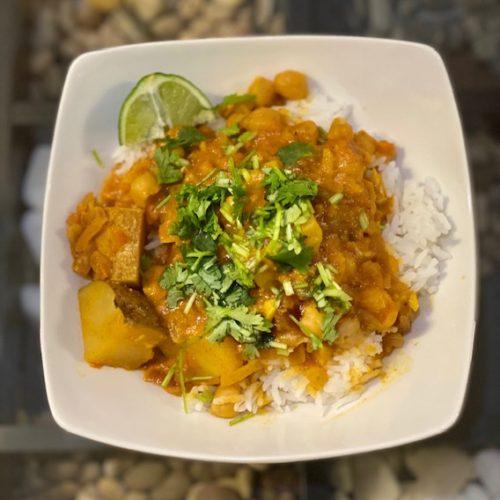 Chana Aloo Curry Recipe